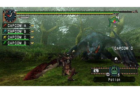 Monster Hunter Freedom Unite PSP review - DarkZero