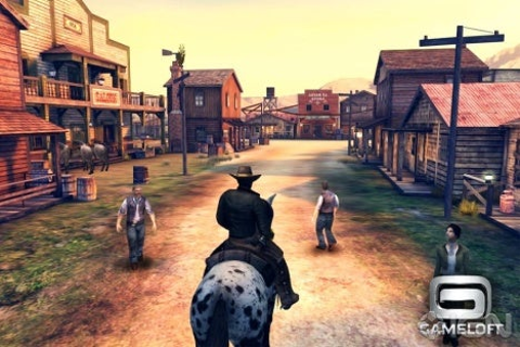 Wild West Horror Comes to iOS With Six Guns - IGN