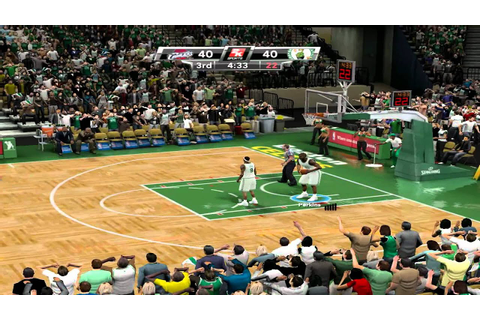 NBA 2K9: Playoffs -- Round 2 - Game 1 -- Celtics VS ...