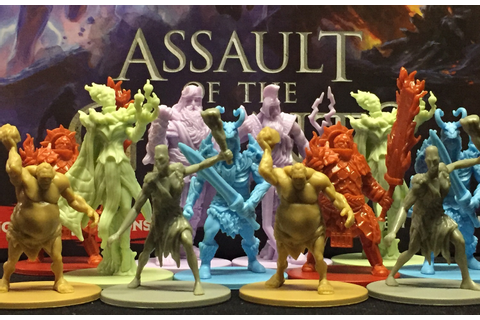 "Assault of the Giants: A great D&D game with 5"" mega ..."