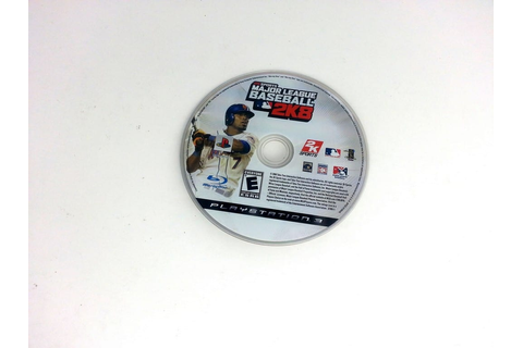 Major League Baseball 2K8 game for Playstation 3 (Loose ...