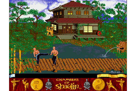 Chambers of Shaolin (1989) by Thalion Amiga game