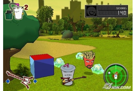 Aqua Teen Hunger Force Zombie Ninja Pro-Am Review - IGN