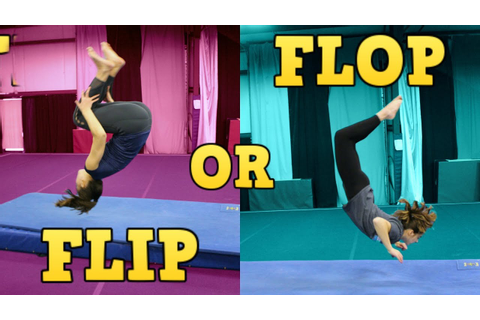 Gymnastics FLIP or FLOP Game (Play Along!) - YouTube
