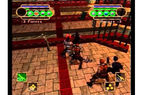 GoDai: Elemental Force (PS2) - out of bounds in ...