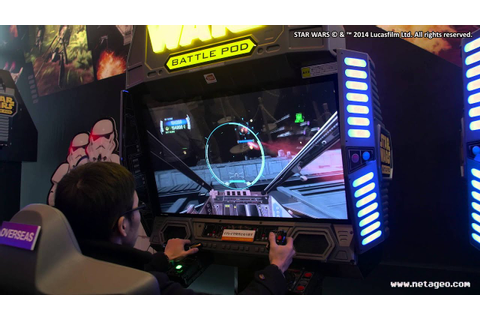 Star Wars: Battle Pod - Flat Screen Edition (Arcade ...