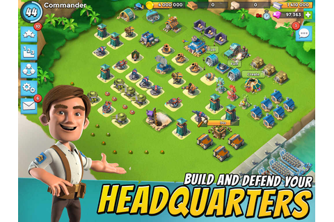 Boom Beach Mod Apk v33.130 (unlimited Dimoands, Coins)