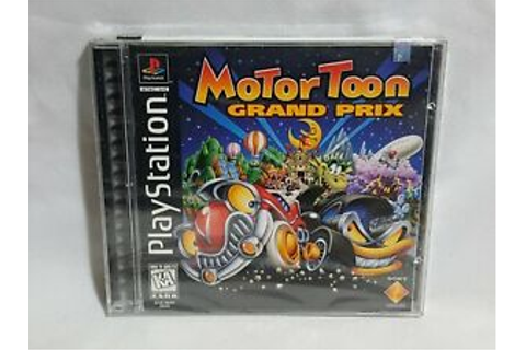 NEW Motor Toon Grand Prix Playstation 1 Game SEALED PS1 ...