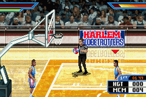 Play Harlem Globetrotters - World Tour Nintendo Game Boy ...