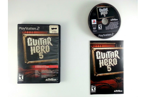 Guitar Hero 5 game for Playstation 2 (Complete) | The Game Guy