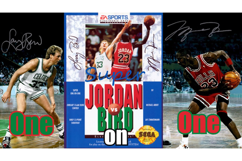 Jordan Vs. Bird: Super One on One (Sega Genesis/Megadrive ...