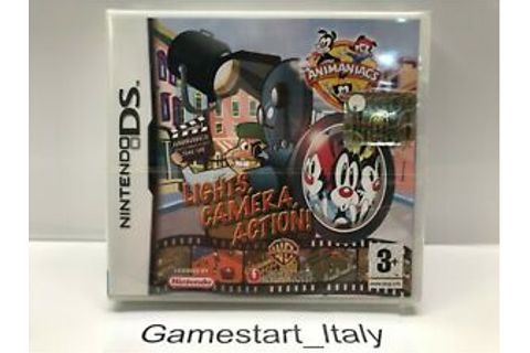 Animaniacs characters Lights Camera Action-Nintendo DS ...