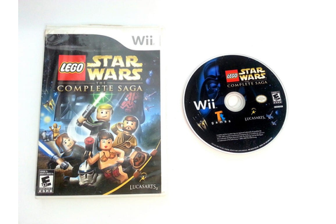 LEGO Star Wars Complete Saga game for Wii | The Game Guy
