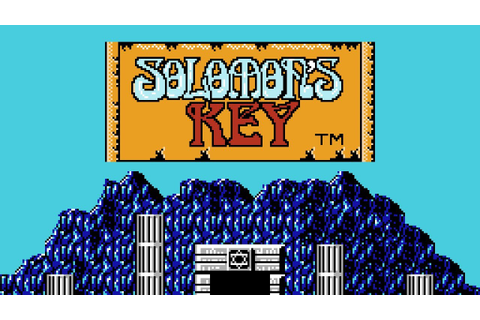 Solomon's Key - NES Gameplay - YouTube