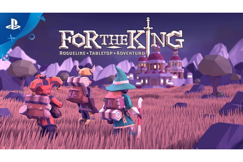For The King - Launch Trailer | PS4 - YouTube