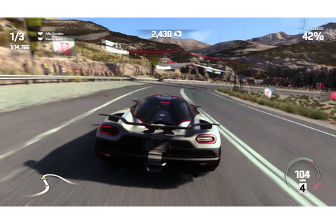 Driveclub - Koenigsegg Agera R Gameplay @ Chile [1440p HD ...