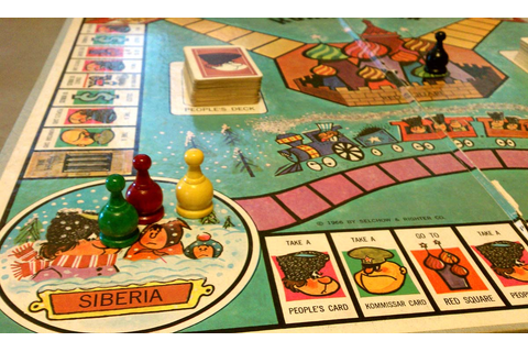 Review: Kommissar, the cold war board game / Boing Boing