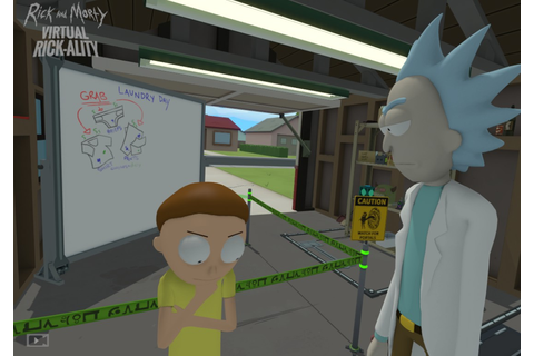 Review: 'Rick and Morty: Virtual Rick-ality' (HTC Vive ...