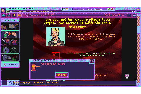 Hypnospace Outlaw - Download Free Full Games | Simulation ...