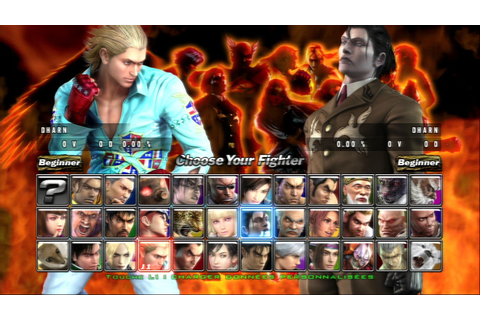 Tekken 5: Dark Resurrection - TFG Review / Art Gallery