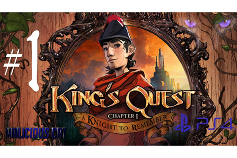 King's Quest Chapter 1: A Knight to remember PS4 Gameplay ...