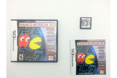 Namco Museum game for Nintendo DS -Complete - TheGameGuy.ca