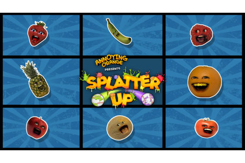 GAMES REVIEW: Annoying Orange: Splatter Up | Bubbleblabber