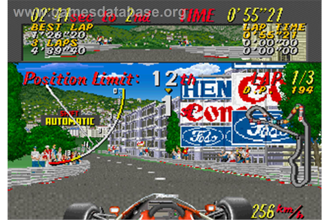 Super Monaco GP - Arcade - Games Database