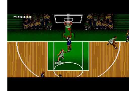 NBA Action '95 starring David Robinson sur Megadrive - YouTube