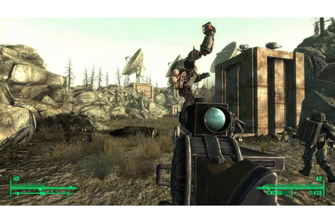 Fallout 3 Gameplay PC - YouTube