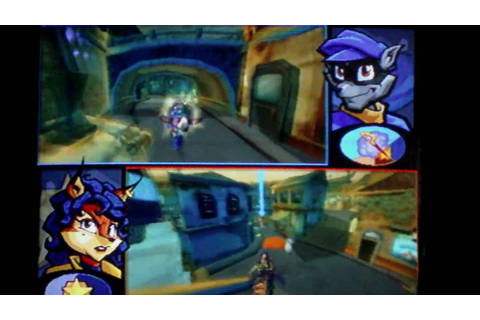 Sly 3 multiplayer cop's and robert's - YouTube