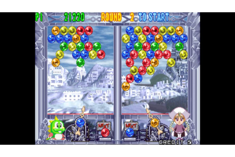 Puzzle Bobble 4 (World) (Arcade) - YouTube