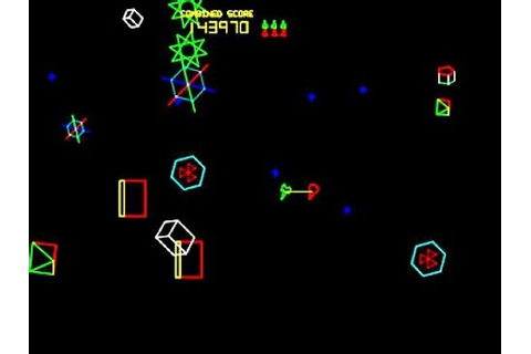 Atari Space Duel Arcade longplay (linked ship) - YouTube