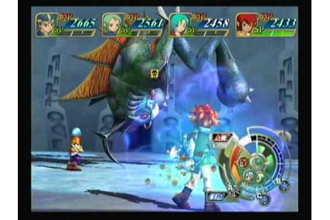 Grandia Xtreme - Boss 17 - Deava (3) - YouTube
