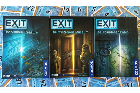 Exit: The Game Mega Review - Puzzling Out | Meeple Mountain