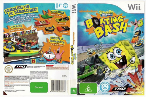 Spongebob Squarepants, Boating Bash - Nintendo Wii | eBay