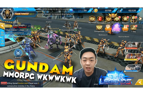Gundam MMORPG niccccch Star Legends #Android Games ...