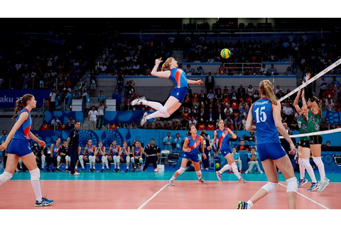 TOP 50 Best Women's Volleyball Spikes | 3rd Meter Spikes ...