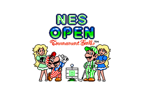 NES Open Tournament Golf | NES | Games | Nintendo