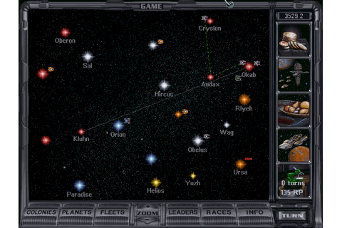 Video Game Screenshots Depot: Master of Orion 2 ...