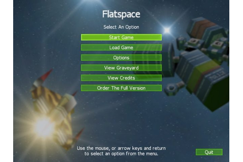Flatspace (2003) by Cornutopia Software Windows game
