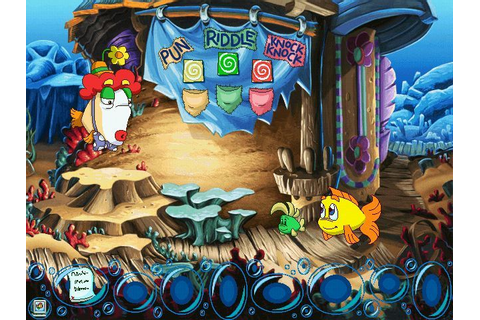 Freddi Fish 5: The Case of the Creature of Coral Cove ...
