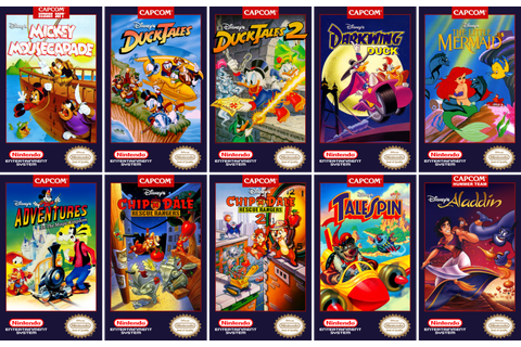 The Disney Afternoon Collection Compiles Remastered ...
