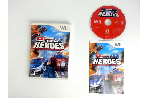 Emergency Heroes game for Wii (Complete) | The Game Guy