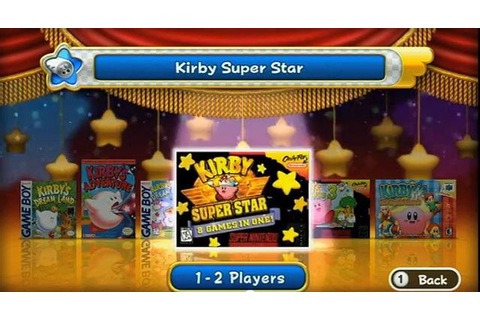 GAMING ROCKS ON: Wii Review: Kirby's Dream Collection ...