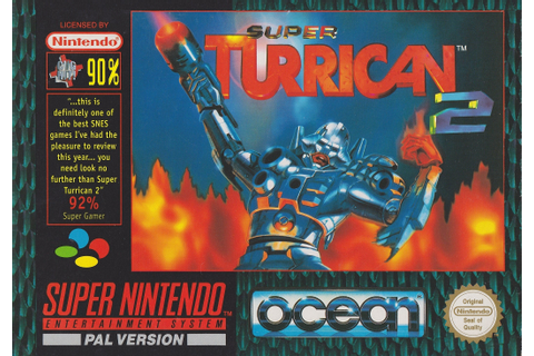 SNES Super Turrican 2 Replacement Box and Insert No Game ...