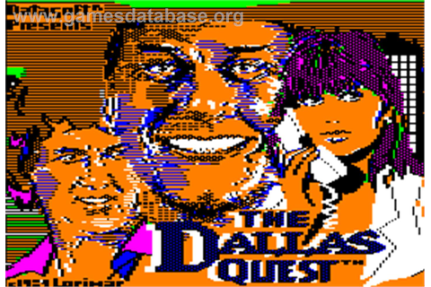 Dallas Quest - Apple II - Games Database