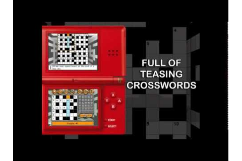 1001 Crosswords for Nintendo DS - YouTube