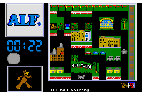 ALF: The First Adventure (1989) by Box Office Atari ST game