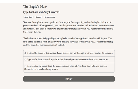 The Eagle's Heir (Herstellerbilder PC) - Screenshot ...